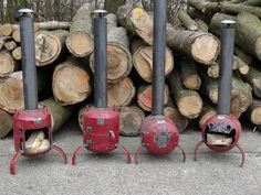 Wood And Metal, Metal Art, Welding Projects, Welding Ideas, Barrel Furniture, Garden Makeover, Rocket Stoves, Metal Shop, Barbecue Grill