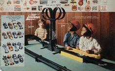 Johnny Lightning Race Tracks and Cars 1970