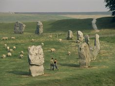 I love this stone circle at Avebury, England because you can walk among the stones and sheep without any large crowds taking away from the surroundings.