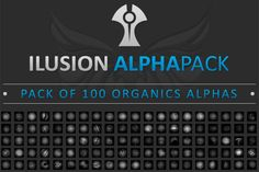 Illusion-Alpha-Pack-for-organic-modeling-in-Zbrush