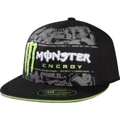 Monster Energy Drink Officially Licensed Fox RC Tinsel Town Men's Flexfit Sports Wear Hat/Cap w/ Free B... $14.00