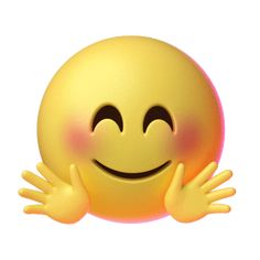 Hand Sticker by Emoji for iOS & Android Animated Smiley Faces, Funny Emoji Faces, Animated Emoticons, Funny Emoticons, Animated Gif, Images Emoji, Emoji Pictures, Cute Cartoon Pictures, Emoji Love