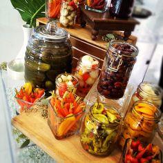 Pickled Vegetable Station