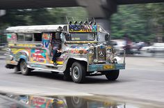 Jeepney in Manilla, Phillippines