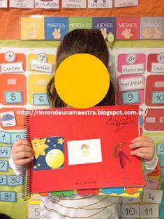"""Rincón de una maestra: El libro viajero """"Vivimos las emociones"""" 9 And 10, Maps, Activities For Kids, Preschool Farm, Teachers, Blue Prints"""
