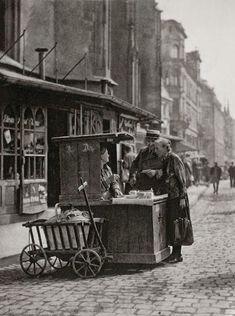 Street scene, Berlin, 1928.