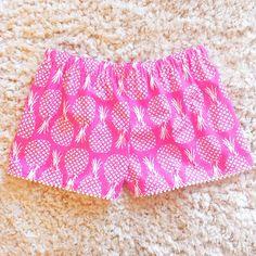 Hotty Pink Pineapple Shorts | Konfetti