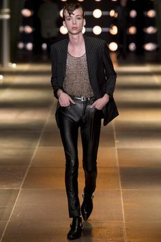3d9e9b0d60fa Saint Laurent ss14 Hedi Slimane, Latest Mens Fashion, Runway Fashion, Men  Fashion,
