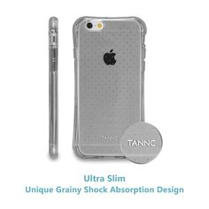 Amazon.com: TANNC® TPU Case for iPhone 6 (4.7 inch), Flexible Slim Bumper with Shockproof Protective Cushion Corner (Comprehensive Protection) - Transparent Clear: Cell Phones & Accessories