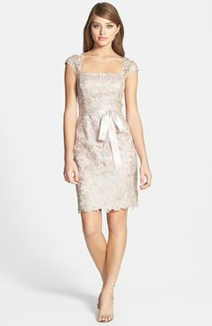 Adrianna Papell Lace Sheath Dress | Nordstrom