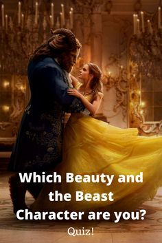 [Quiz] Which Beauty and the Beast Character Are You?  I got Belle!!!!