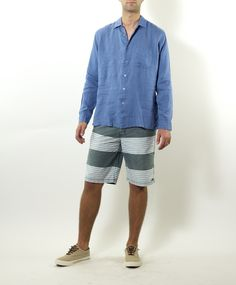 Visitor Linen Button Down Shirt for $125