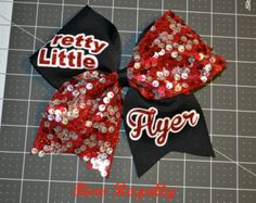 pretty little flyer cheer bow - Google Search