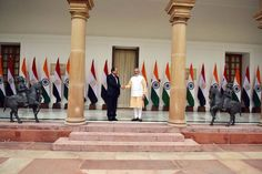 Delighted to welcome President Abdel Fattah Al Sisi on his 1st state visit to India. Our talks today were fruitful.