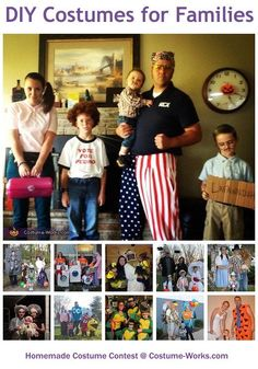 OMG How funny is that? hahaha Homemade Costumes for Families - this website has tons of DIY costume ideas!
