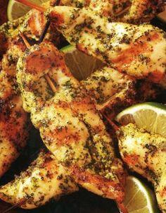 Cilantro Pesto Chicken Tenders
