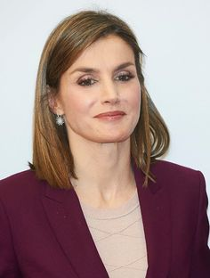 Queen Letizia attends a meeting with the BBVA Foundation