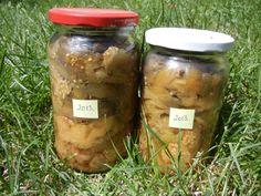 natúr padlizsánkrém - Dejavu világ Mason Jars, Cooking Recipes, Foods, Drinks, Winter, Food Food, Drinking, Winter Time, Food Items