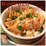 Buffalo Chicken Pasta - dinner in 30 minutes or less