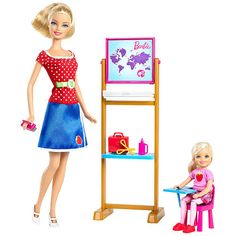 "Barbie I Can Be Doll - Teacher - Mattel - Toys ""R"" Us $27.99  #savethebunnyGP"