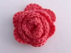 Hey, I found this really awesome Etsy listing at https://www.etsy.com/listing/203487377/crochet-applique-1-medium-coral-pink