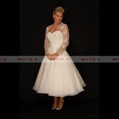 tealength plus size wedding dresses | Plus Size Wedding Dress Tea Length Gowns Design-in Wedding Dresses ...
