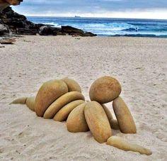 Un po' di sole in spiaggia