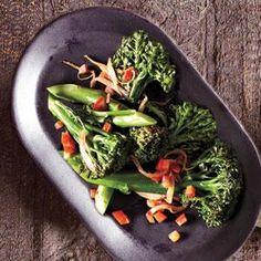 Sautéed Broccolini with Tomatoes | MyRecipes.com
