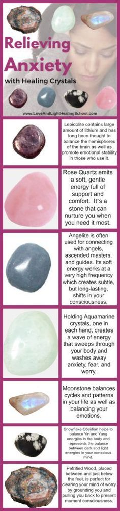 Crystal Energy for Balance: Relieving Anxiety with Stones - Love & Light Healing School