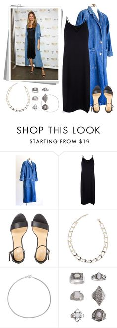 """""""Get the look: Behati Prinsloo Levine"""" by oliverab ❤ liked on Polyvore featuring Theory, Kismet by Milka, Bling Jewelry, Topshop, GetTheLook and behatiprinsloo"""