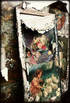xx..tracy porter..poetic wanderlust..- Scrap screens. Sunbury Antiques (Kempton)