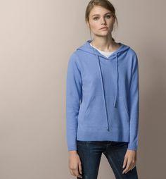 HOODED JOGGING SWEATER - Sweaters - Knitwear - WOMEN - Spain - Massimo Dutti