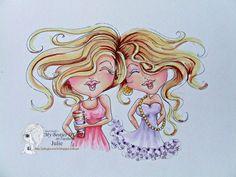 Bestie girlfriends close-up by Julie Gleeson... (pinned from Facebook)