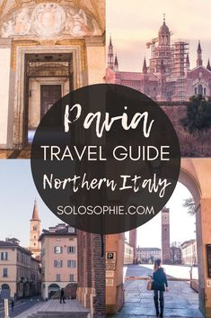 Pavia travel guide: Here's your ultimate itinerary for why you must visit Leiden, the beautiful university city of Pavia, Lombardia, Northern Italy Europe (what to do an see in Pavia) Italy Travel Tips, Rome Travel, Europe Travel Guide, France Travel, Travel Guides, Weather In France, Italy Destinations, Italy Tours, Culture Travel