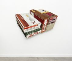 Ron van der Ende takes used lumber and sculpts it into objects - simply amazing! ronvanderende 2013 Rounds 1000px