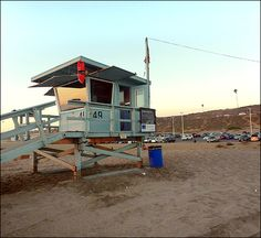 THE O.C. Filming Locations: The Lifeguard Tower