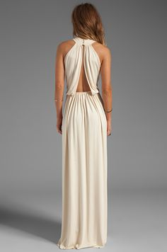 Rachel Pally Kasil Dress em Creme | REVOLVE