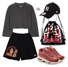 """""""Tinashe"""" by s-ionnat on Polyvore featuring adidas Originals, NIKE, Angel Chen, New Era and Beats by Dr. Dre"""