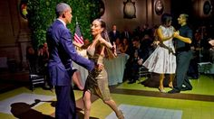 It takes two to tango, and, in this case, POTUS and FLOTUS were happy to oblige.