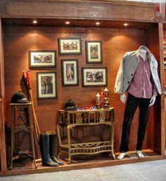Polo display visual merchandising