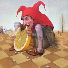 Meal of the fool ~ Micha Lobi ~ Galerie Knud Grothe