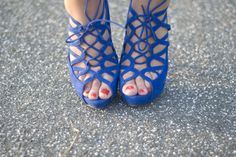 on really tan feet....oh yeah