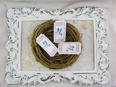 Dove Tickets Easter Church Functions Cards by GoldenNestStudio