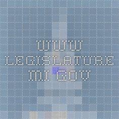 www.legislature.mi.gov