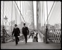 On May 24, 1883, the Brooklyn Bridge is opened, connecting New York and Brooklyn over the East River for the first time.