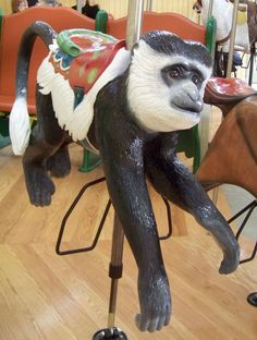 Speedwell Foundation Conservation Carousel at the Smithsonian National Zoological Park is no ordinary merry-go-round. -