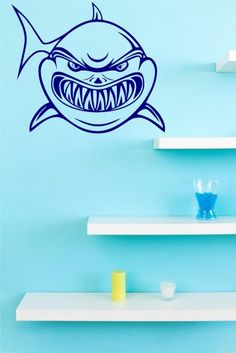 http://broomsticker.co.uk/Frightening-Shark-Wall-Decal