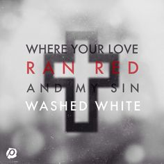 """At The Cross (Love Ran Red)"" - Chris Tomlin.. New favorite song #passion2014"