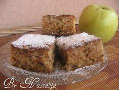Apple Recipes, Baking Recipes, Cake Recipes, Vegan Recipes, Dessert Recipes, Desserts, Posne Torte, Torta Recipe, Serbian Recipes