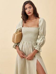 Casual Summer Dresses, Summer Dresses For Women, Dress Casual, Casual Outfits, Dress Outfits, Dress Up, Dress Long, Fashion Dresses, Mode Shop